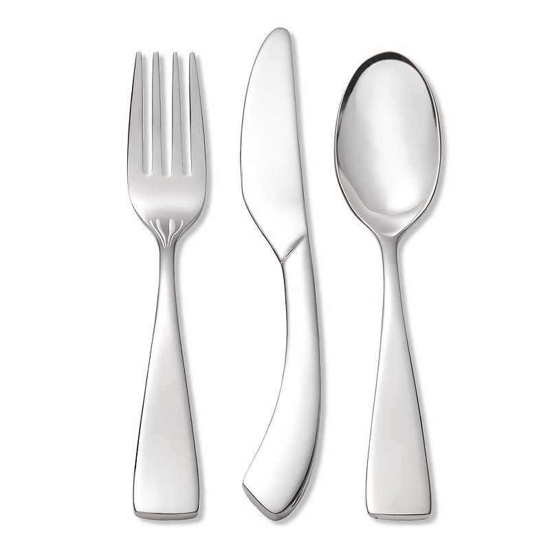 Oneida Curva 18/10 Stainless Steel 3-pc. Child Flatware Set