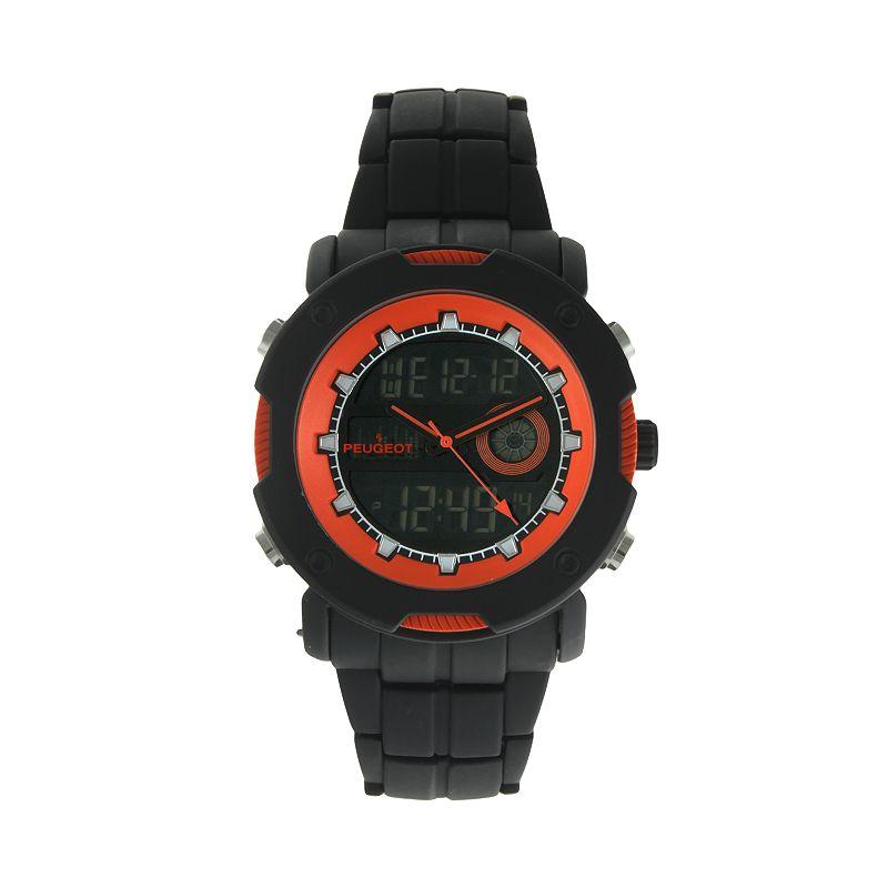Peugeot Men's Analog & Digital Chronograph Watch - 1024
