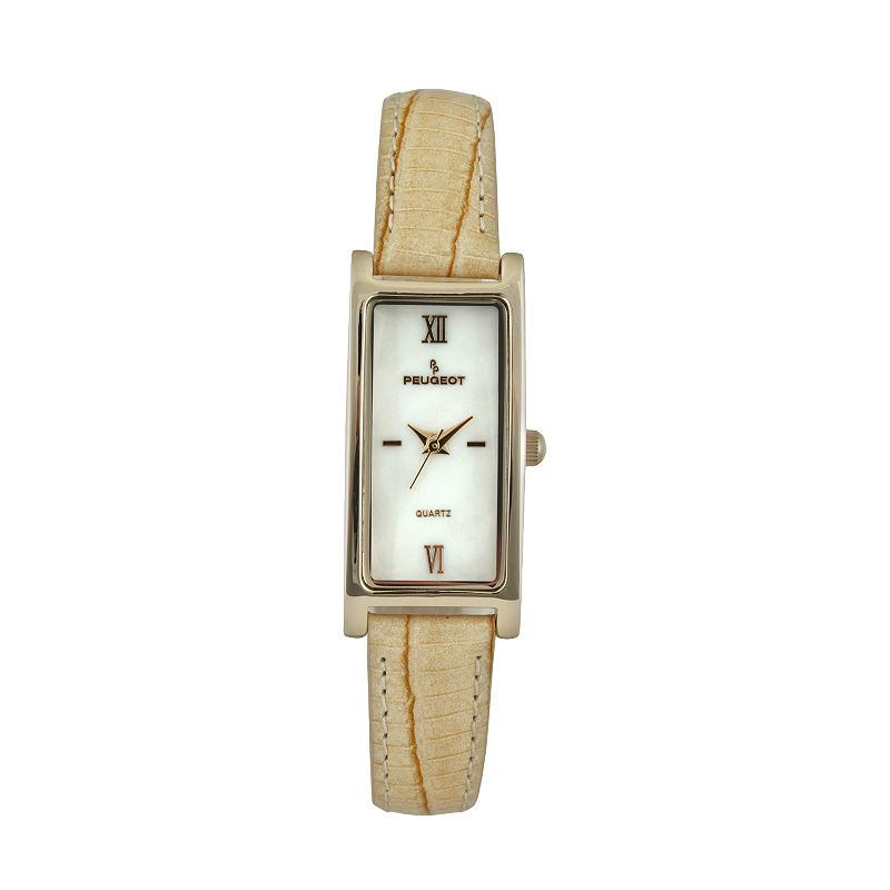 Peugeot Women's Leather Watch - 3017TN
