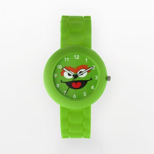 Sesame Street Oscar the Grouch Green Watch - Kids