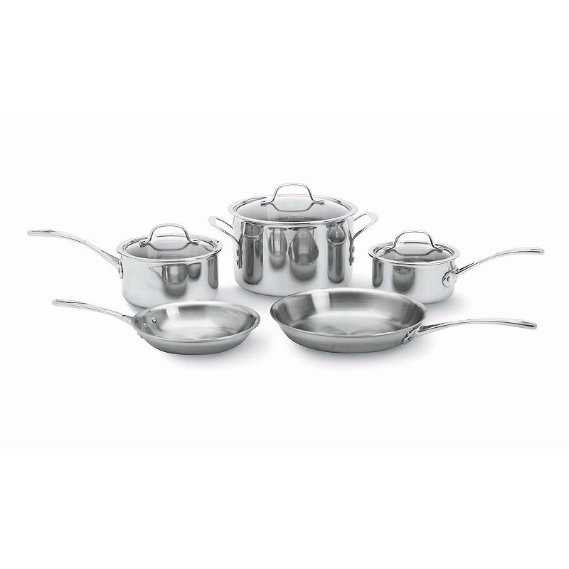 Calphalon Tri-Ply Stainless Steel 8-pc. Cookware Set