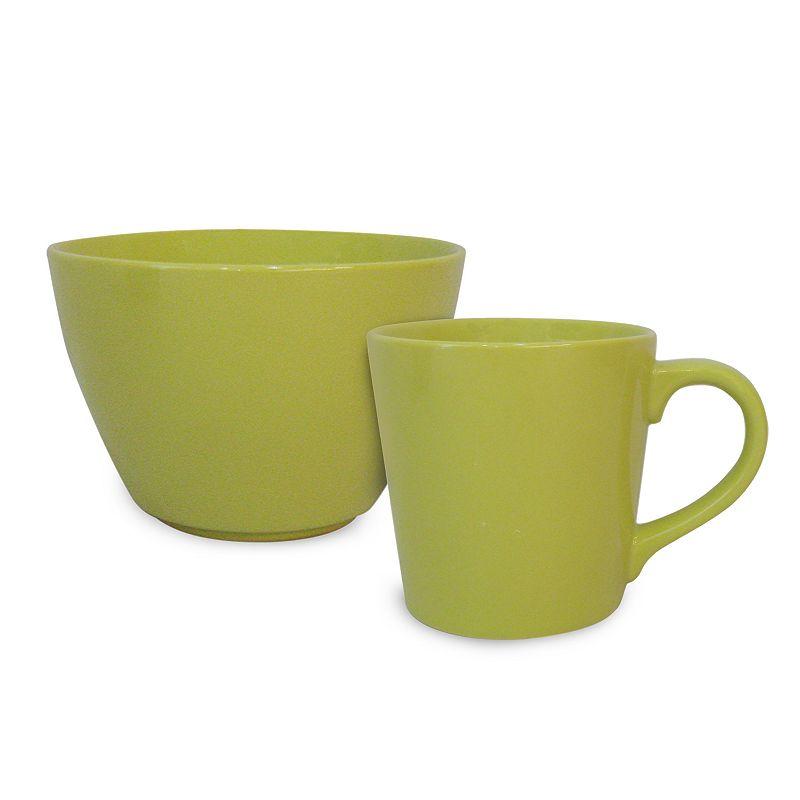Student Lounge Glaze 2-pc. Bowl and Mug Set