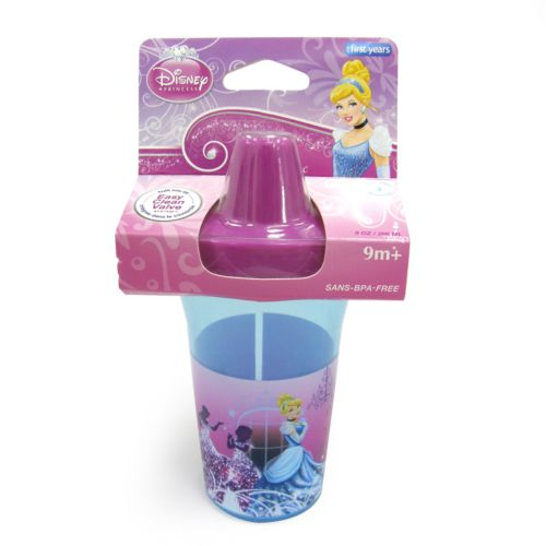 Disney Princess Basic Slim-Line Sippy Cup by The First Years