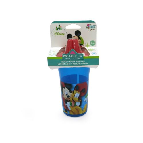 Disney Mickey Mouse Basic Slim-Line Sippy Cup by The First Years