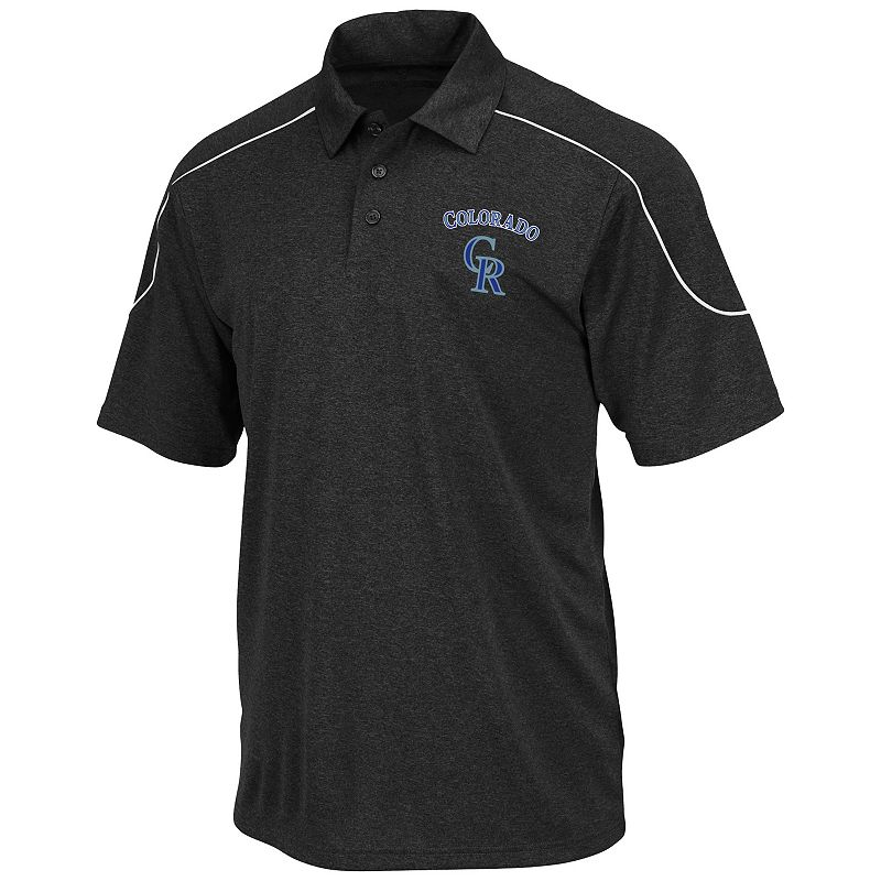 Big & Tall Majestic Colorado Rockies Polo