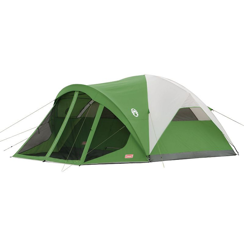 Coleman Evanston 6-Person Screened Camping Tent, Green