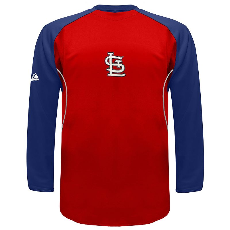 Men's Majestic St. Louis Cardinals Therma Base Tech Fleece