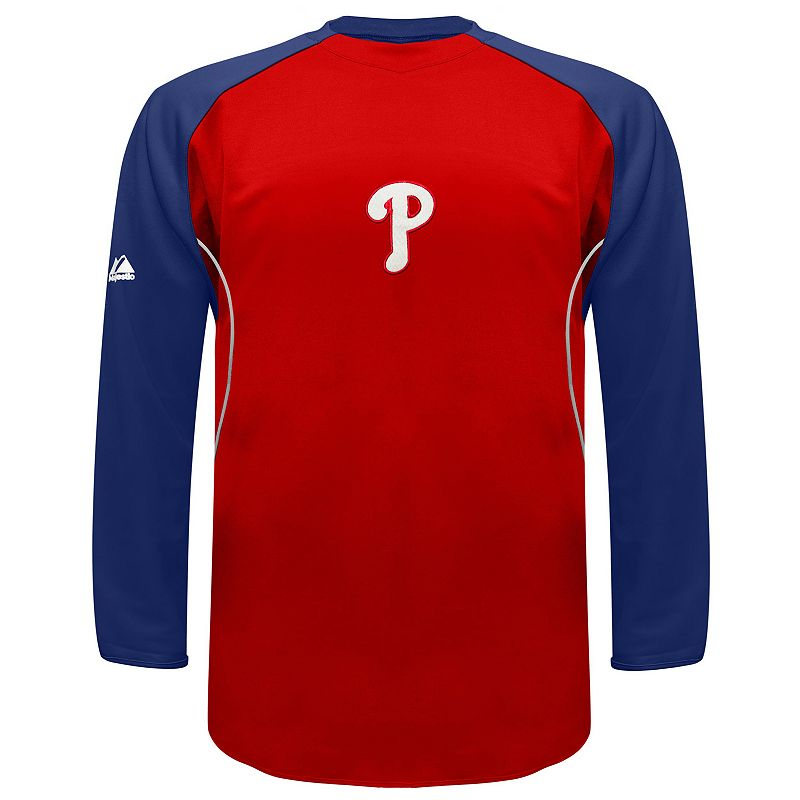 Men's Majestic Philadelphia Phillies Therma Base Tech Fleece