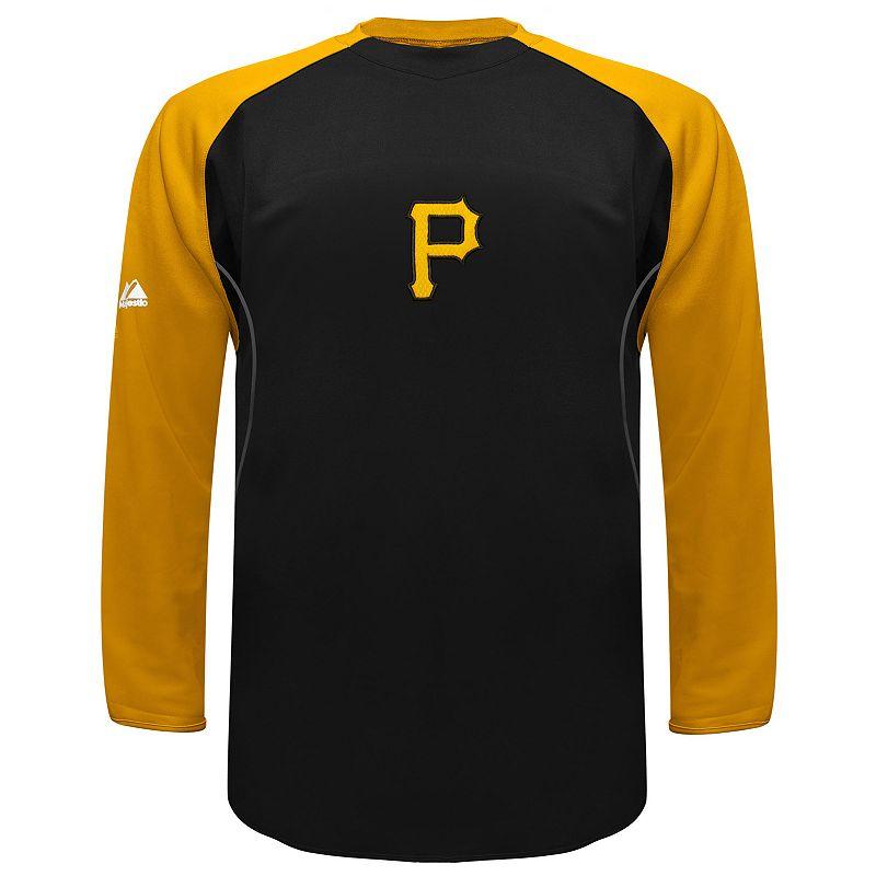 Men's Majestic Pittsburgh Pirates Therma Base Tech Fleece