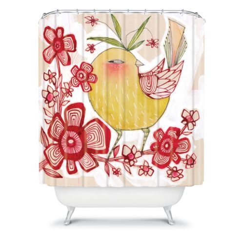 DENY Designs Cori Dantini Sweetie Pie Fabric Shower Curtain