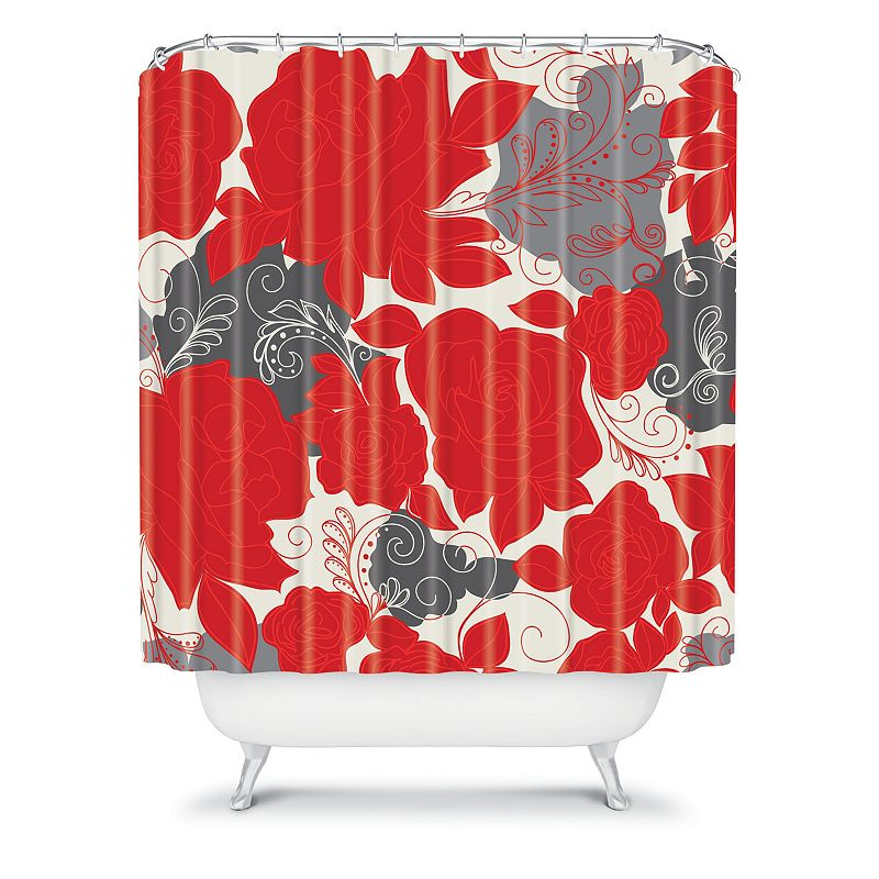 DENY Designs Khristian A Howell Rendezvous 4 Fabric Shower Curtain