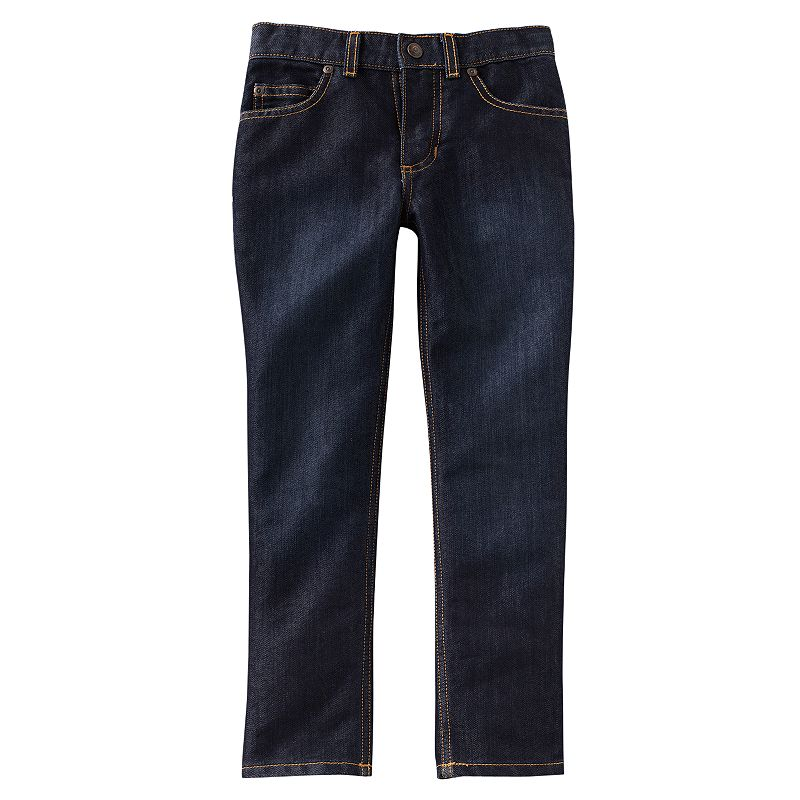 Boys 4-7x SONOMA Goods for Life™ Dark Wash Skinny Jeans