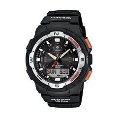 Casio Men's Twin Sensor World Time Compass Analog & Digital Chronograph Watch SGW500H-1BV