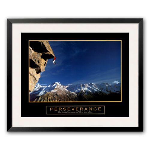 Art.com Perseverance - Cliffhanger Framed Art Print