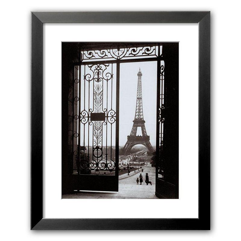 Art.com Paris Eiffel Tower from the Trocadero Framed Art Print by Gall