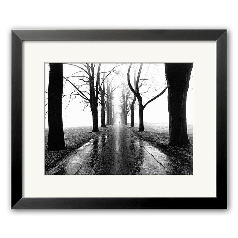 40% OFF Art.com Jogger Framed Art Print by Larry Silver, White