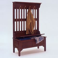 Hall Tree with Storage Bench by