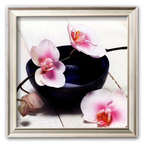 Art.com Orchid in a Bowl Framed Art Print by Stephane De Bourgies