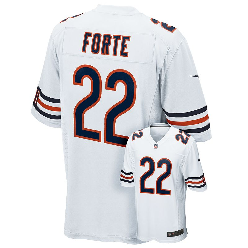 Men's Nike Chicago Bears Matt Forte Game NFL Replica Jersey