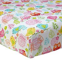 NoJo Love Birds Crib Sheet