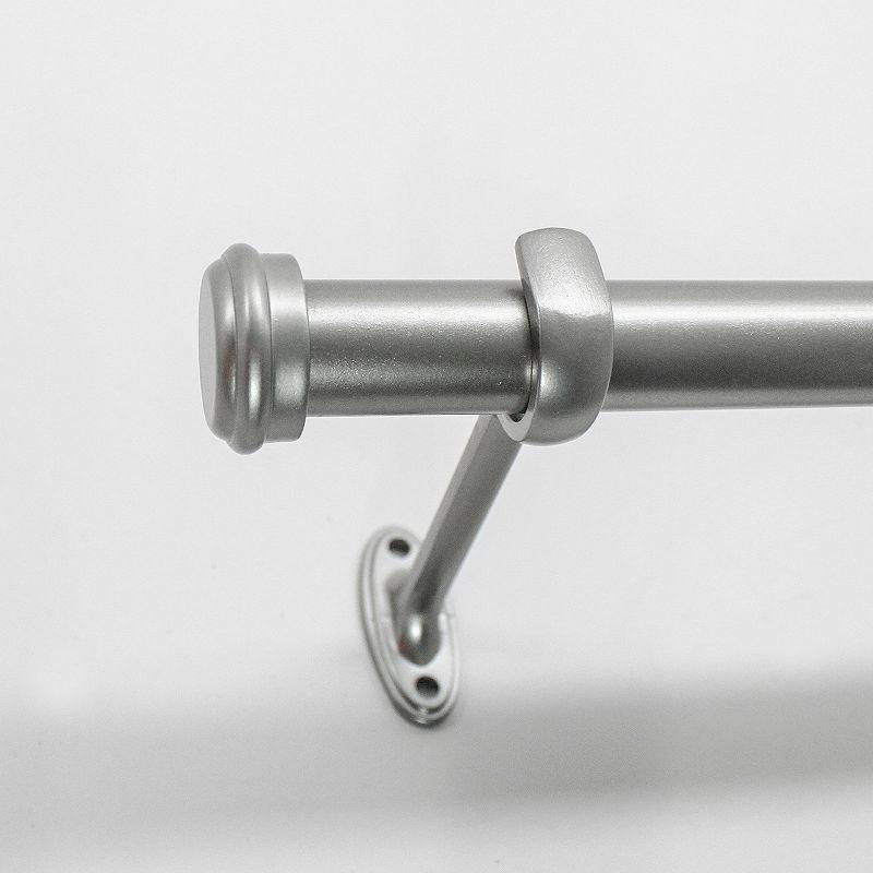 Decopolitan End Cap Adjustable Curtain Rod - 36'' - 72''