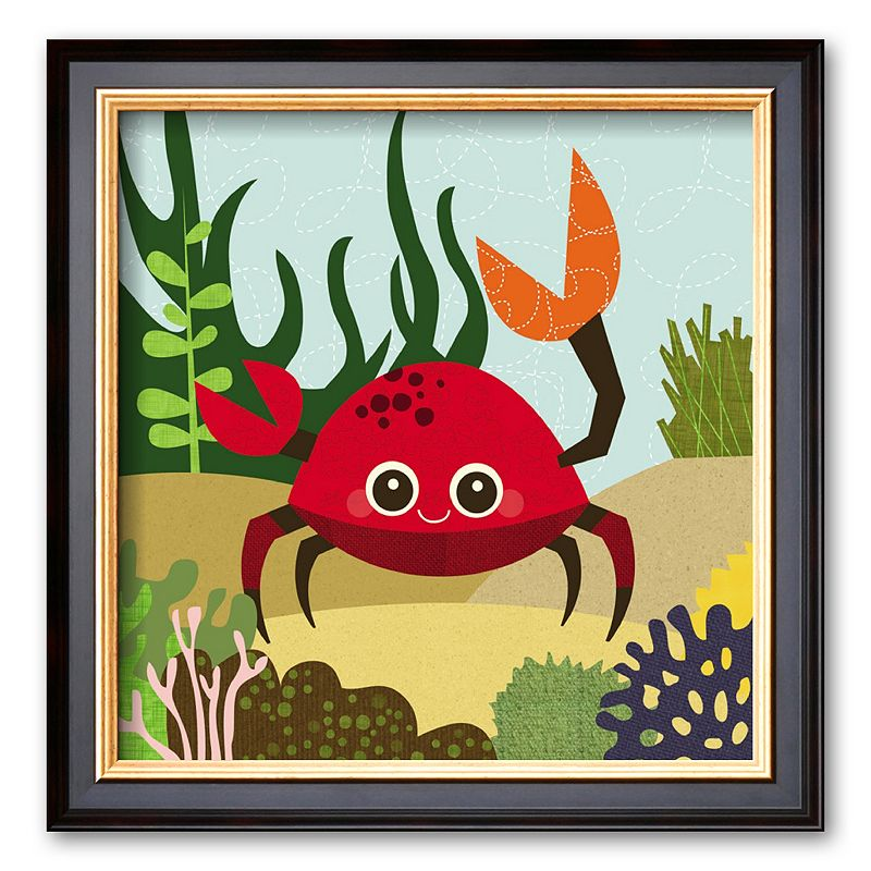 Art.com Ocean Friends, Carla Framed Art Print by Jenn Ski