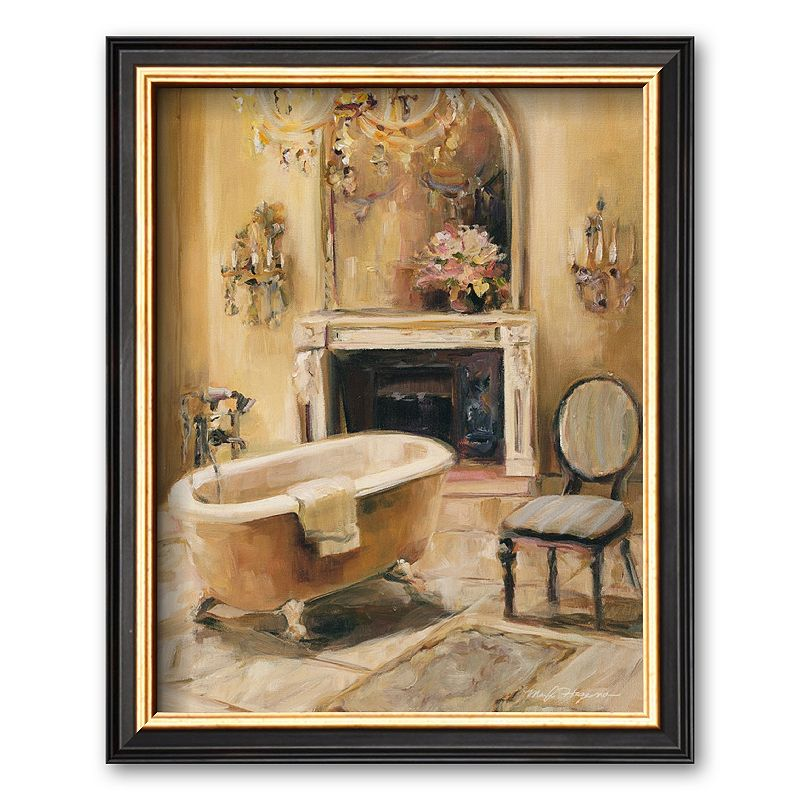 French Bath III Framed Art Print By Marilyn Hageman