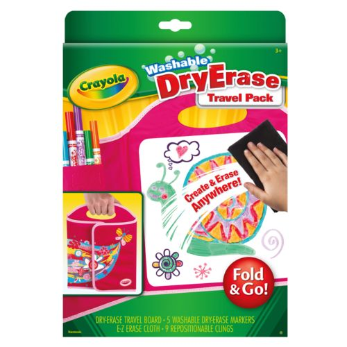 Crayola Fold and Go Dry-Erase Travel Pack