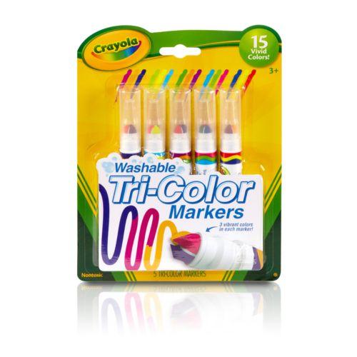 Crayola 5-pk. Tri-Color Markers