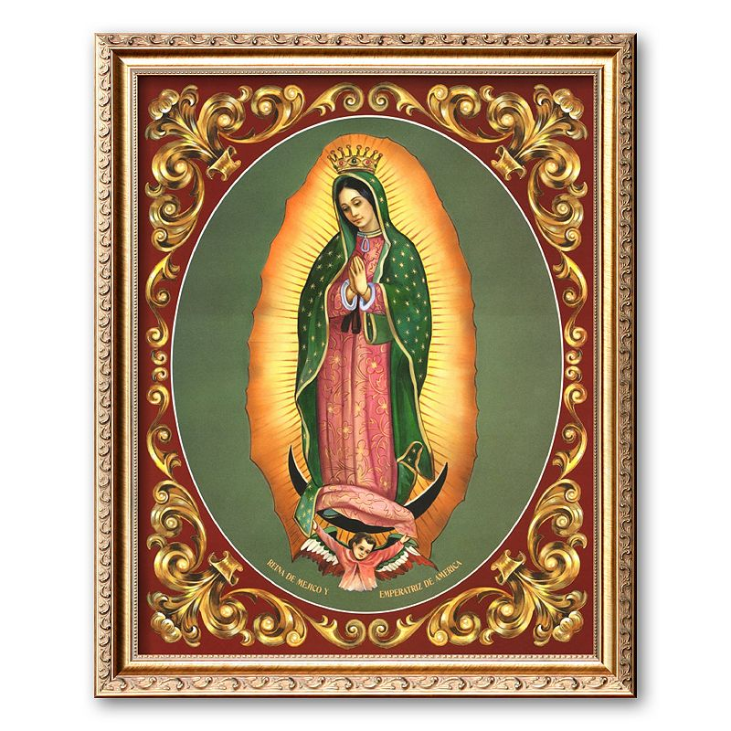 Art.com Lady of Guadalupe Framed Art Print by Vincent Barzoni