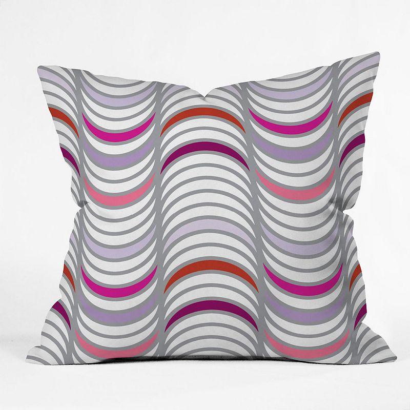 DENY Designs Karen Harris Candy Tidal Wave Decorative Pillow - 18'' x 18''