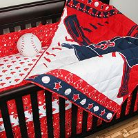Boston Red Sox 4-pc. Crib Set