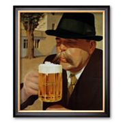 Art.com Moretti Beer Framed Art Print, Multicolor