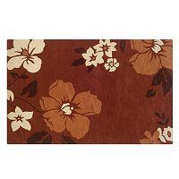 Linon Trio with a Twist Floral Rug - 5' x 7'
