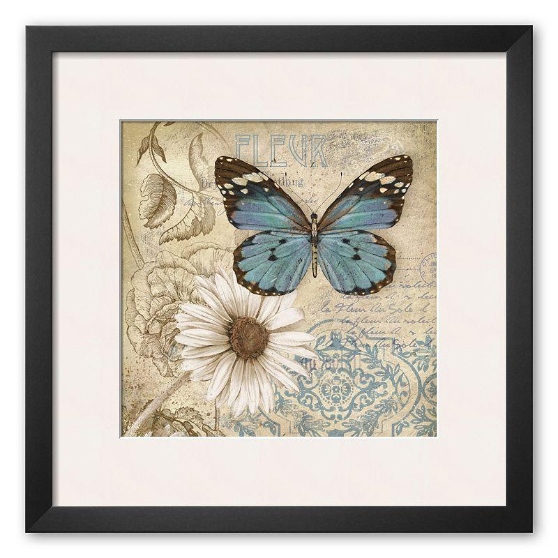 Kohls Outdoor Wall Decor : Butterfly framed wall decor kohl s