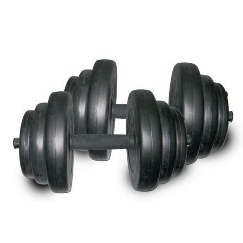Sunny Health and Fitness 40-lb. Vinyl Dumbbell Set