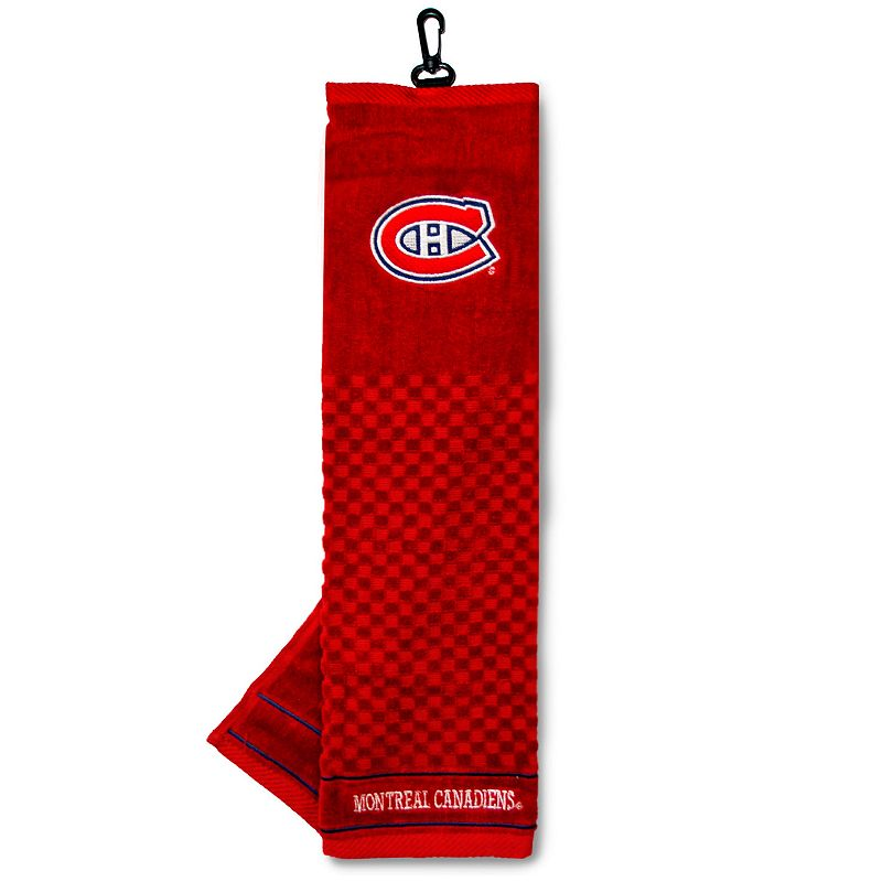 Team Golf Montreal Canadiens Embroidered Towel