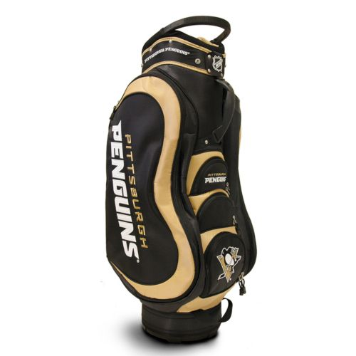 Team Golf Pittsburgh Penguins Medalist Cart Bag