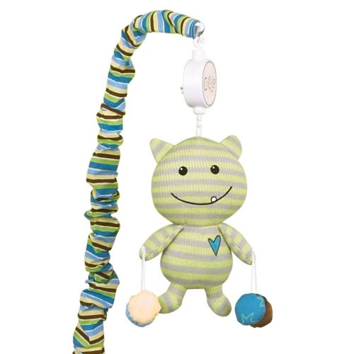 CoCaLo Baby Peek A Boo Monsters Musical Mobile