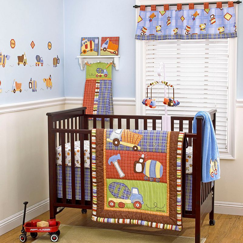 CoCo and Company Roadwork 4-pc. Crib Bedding Set