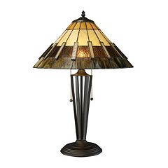Stained Glass Tiffany Table Lamp by