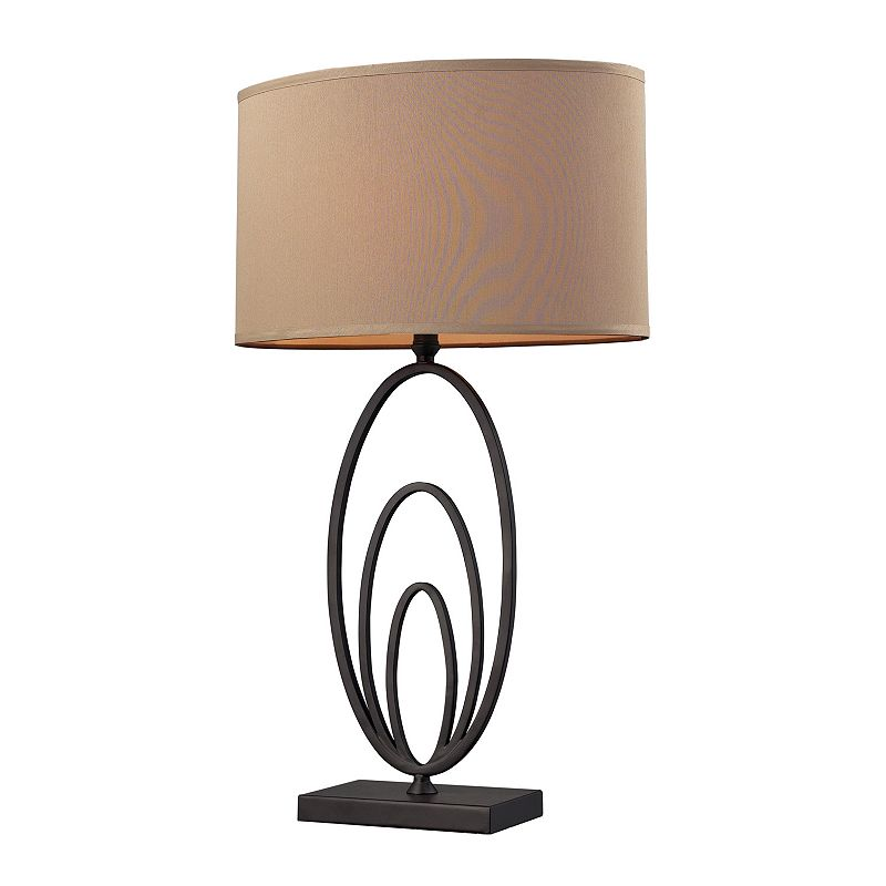 Oval Table Lamp
