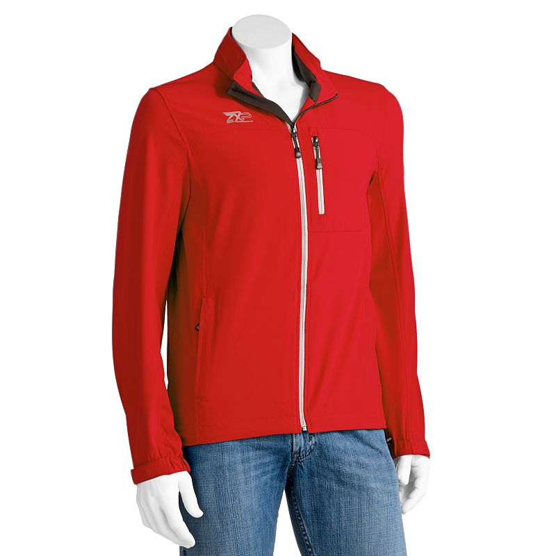 Men's ZeroXposur Crest 4-Way Stretch Performance Hooded Golf Jacket