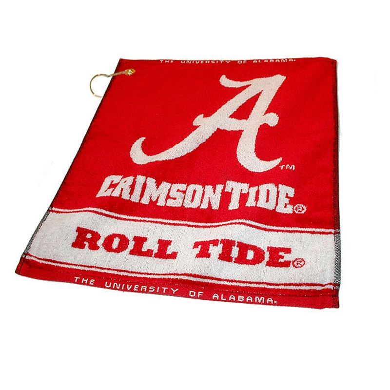 Team Golf Alabama Crimson Tide Woven Towel