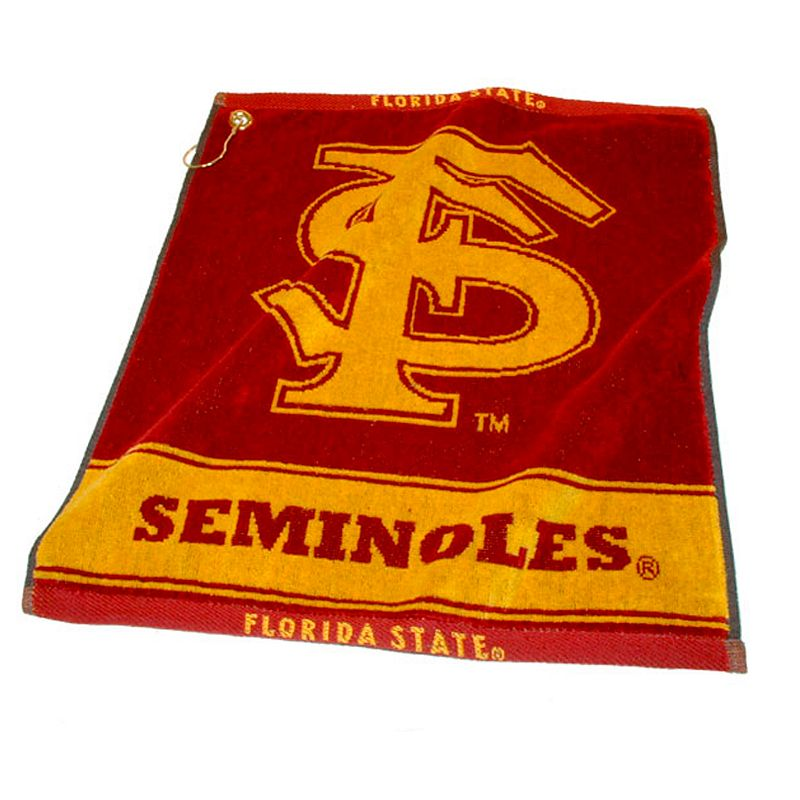 Team Golf Florida State Seminoles Woven Towel