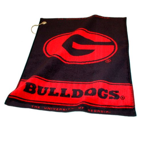 Team Golf Georgia Bulldogs Woven Towel
