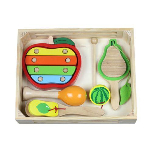 Discoveroo Fruit Music Percussion Set