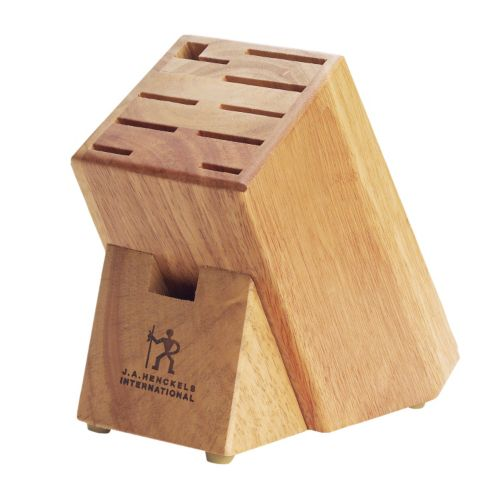 J.A. Henckels International Hardwood Knife Block