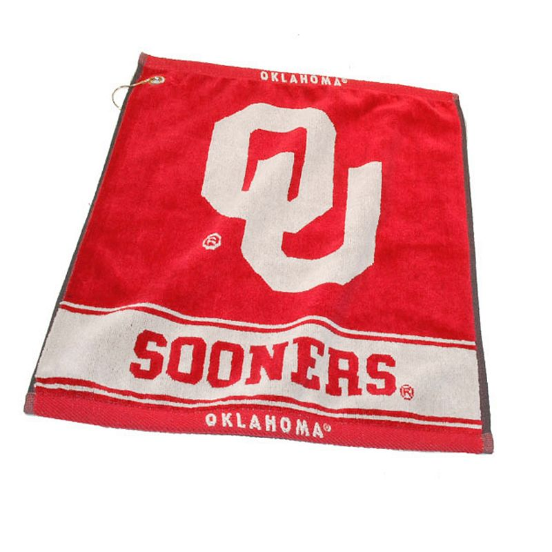 Team Golf Oklahoma Sooners Woven Towel