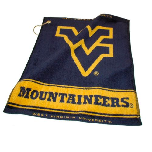 Team Golf West Virginia Mountaineers Woven Towel